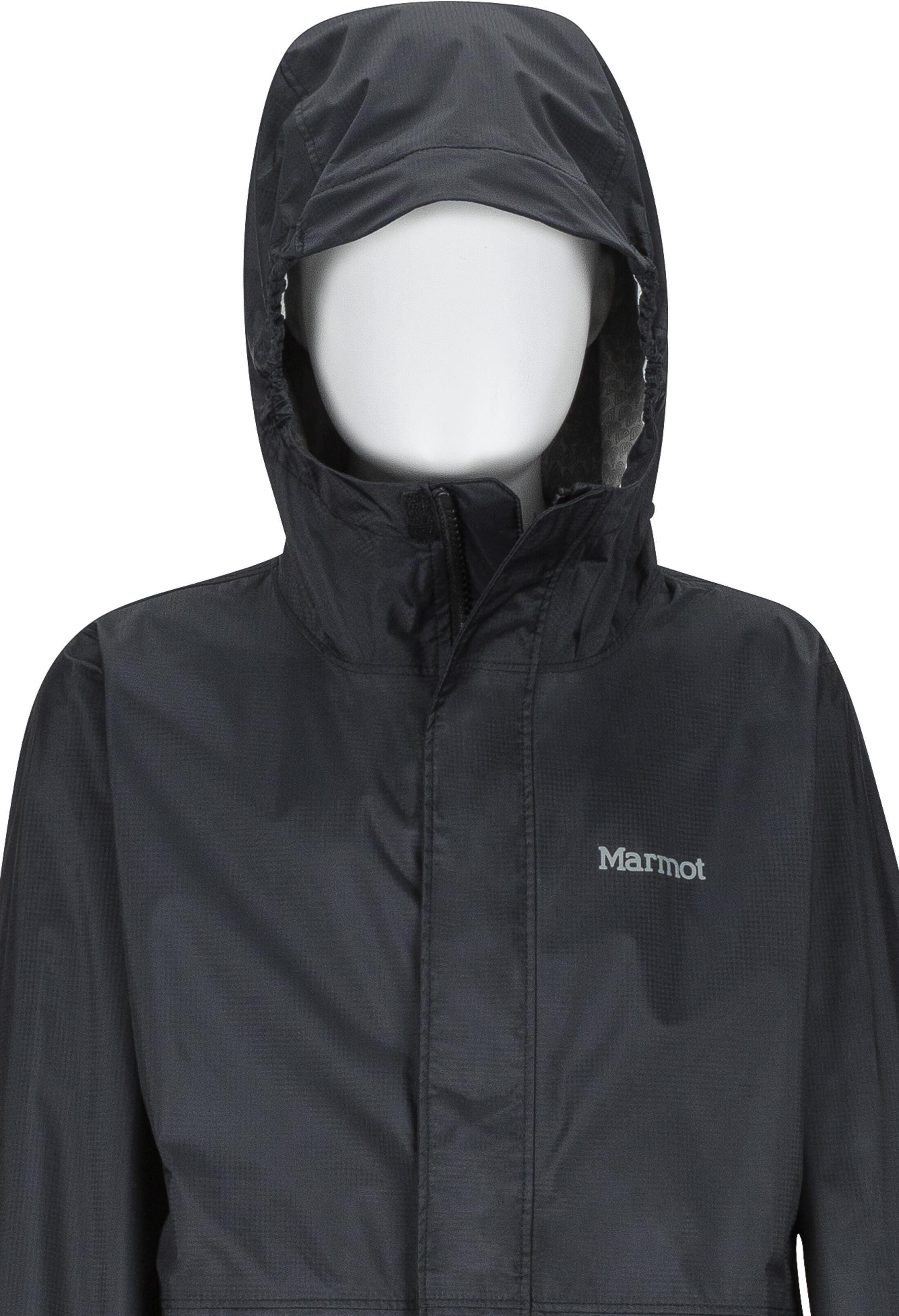 9ad63ddd6 Marmot PreCip Eco Jacket Children black at Addnature.co.uk